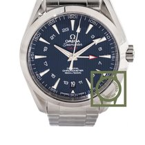 Omega Seamaster Aqua Terra 150m co-axial GMT 43mm blue dial