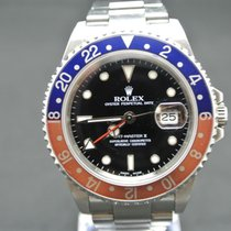 Rolex GMT-Master II Pepsi m.Box+Papiere No Hole (Europe Watches)