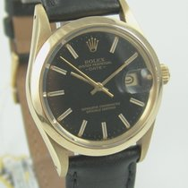 Rolex Oyster Perpetual Date 585 Gold Quick -Change