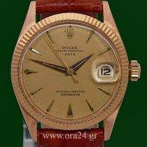 Ρολεξ (Rolex) Oyster Perpetual Date 6627 Medium 18k RedGold