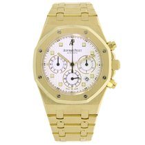 Audemars Piguet AP Royal Oak Chronograph 39mm Yellow Gold Box/Pap