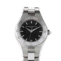 Baume & Mercier Ladies Stainless Steel Quartz Watch MOA10010