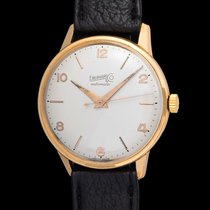 Eberhard vintage Automatic time only pink gold