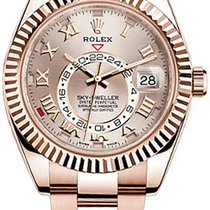 Rolex 326935 Oyster Perpetual Sky-Dweller42mm 18K Pink gold ...