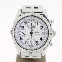 Breitling Chronomat Steel 39mm WhiteArabicDial (B&P2009)...