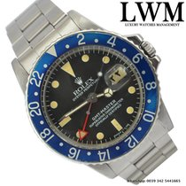 Rolex GMT Master 1675 Blueberry bezel Red Arrow very rare 1977's