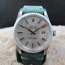 Rolex DATEJUST 16030 SS with Original Silver Dial with Orange...