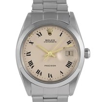 Rolex Oysterdate Precision Steel with Off-White Dial, Ref: 6694