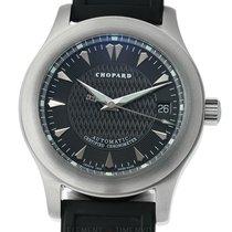 Chopard L.U.C. Sport 2000 Stainless Steel 40mm Black Dial