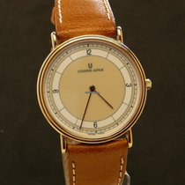 Universal Genève Ultra Thin watch, Art Deco style dial, 1990, NOS
