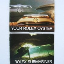 Rolex Raro SET Libretti / Booklet per Submariner e SD