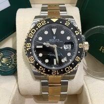 ロレックス (Rolex) GMT MASTER II STEEL/GOLD BLACK 116713LN