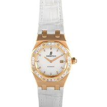 Audemars Piguet Royal Oak Mother of Pearl 18K Solid Rose Gold...