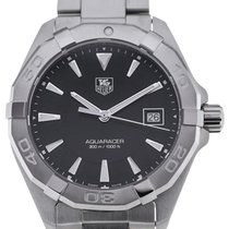 TAG Heuer Aquaracer 41 Quartz Black Dial