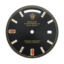 Rolex Day-Date 41mm Black/Diamonds Custom Dial
