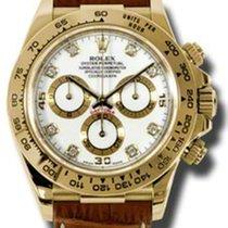 롤렉스 (Rolex) Rolex Daytona Yellow Gold - Leather Strap