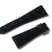 萧邦 (Chopard) Croco Armband Schwarz Black 24 Mm Für Dornschlies...