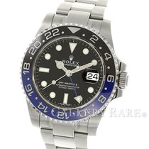 롤렉스 (Rolex) GMT Master II Ceramic Batman Bezel Steel 40MM...