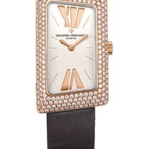Vacheron Constantin 1972 Petite Model Diamonds Rose Gold 18k
