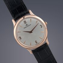 Jaeger-LeCoultre Pre-owned  Master Ultra Thin 18ct rose gold...