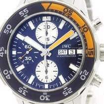 IWC Polished Iwc Aqua Timer Chronograph Automatic Watch...