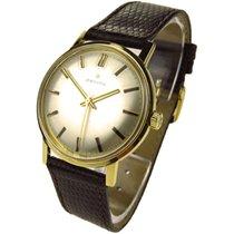 Zenith 18k Gold Vintage Mechanical Wristwatch