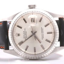 "Rolex Mens Ref#1603 Datejust - Rare Silver Stick ""Sigma&#3..."