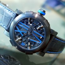 Romain Jerome Steampunk Auto Blue Limited 99 pcs. - RJ.T.AU.SP...