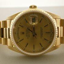Rolex President 18038 18k Day/date 36mm Auto Watch 8 Million...