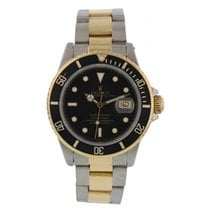 Rolex Oyster Perpetual Submariner 16803 Black Dial
