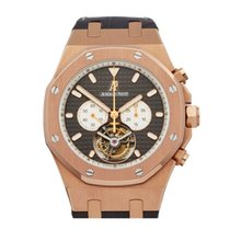 Audemars Piguet Royal Oak XL Tourbillon Chronograph 18k Rose...
