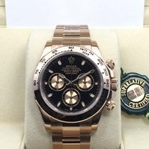 Rolex 18K Everose Pink Gold Cosmograph Daytona Black Dial [NEW]