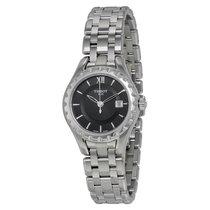 Tissot Lady Black Dial Stainless Steel Ladies Watch
