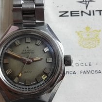 Zenith Defy Steel Automatic Sport Watch diver vintage
