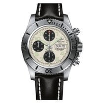 Breitling A13341C3.G782.435X Superocean Chronograph in Steel -...