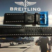 Breitling Lederarmband+Dornschnalle Navitimer 01, Ungetragen...