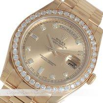 Rolex Day Date II Gelbgold 218348 verklebt
