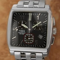 Timex Indiglo Made in Japan c2000 37mm Stainless Steel...