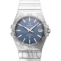 오메가 (Omega) Constellation Co-Axial Blue Steel 35mm - 123.10.35...