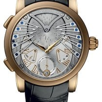 Ulysse Nardin Stranger 18K Solid Rose Gold Manual Wind