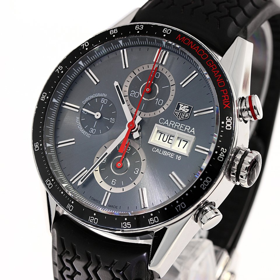 TAG Heuer Carrera 43mm Calibre 16 Day Date Limited Monaco... for Rs.  214 4fb9d31c0c