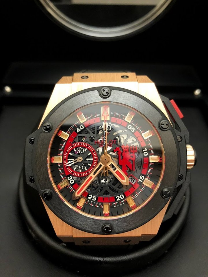 853697b2269 Hublot King Power Red Devil Manchester United 716.OM.1129.RX.M... for S   26