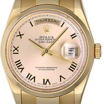 Rolex President Day-Date Men's Watch 118208 Champagne Dial
