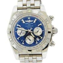 ブライトリング (Breitling) Chronomat 44 B01 Blue Dial Stainless Steel