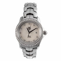 TAG Heuer Link Ladies Diamond Mother of Pearl Quartz Watch...