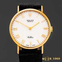 Rolex Cellini  5112  18K  Gold  Jubilee Dial Men's  Box
