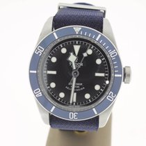 Tudor Heritage Black Bay BlueDial (FULLSET2015) LikeNew 41mm MINT