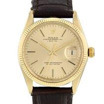 Rolex Oyster Perpetual Date en or jaune 14k Ref : 1503 Vers 1973