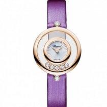 Chopard Happy Sport Icons 18K Rose Gold & Diamonds Ladies...