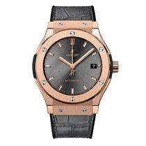 Hublot Classic Fusion 42mm Automatic Gold Mens Watch Ref...